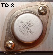 TO-3 Transistor Package photograph