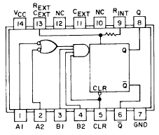 74121 ic description  dictionary of electronic and