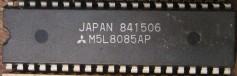8085 Microprocessor in a DIP Package