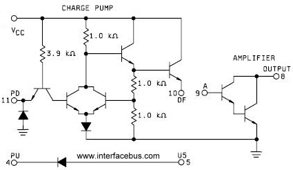 Charge Pump Circuit Schematic