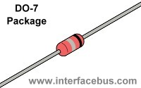 DO-7 Diode Package Drawing