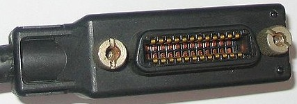 IEEE-488 female portion and cable termination