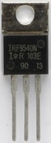 IRF9540 MOSFET in a TO-220 Package