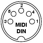 4 pin din diagram html  4  free engine image for user