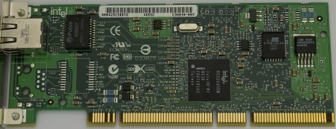 PCI-X Gigabit Ethernet expansion card