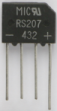 RS207 Diode Bridge Rectifier