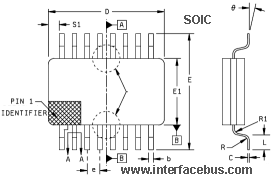 SOIC IC CHIP Package Type