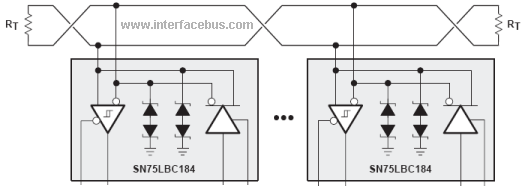 rs485 fault protection