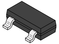 SMD Transistor, TO-236 Package