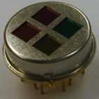 Quad infrared thermopile sensor
