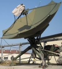 Military Cassegrain Antenna