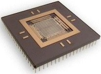 ASIC IC in a PGA package