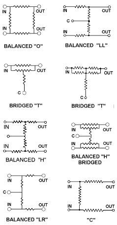 Balanced Resistor Network circuit schematics