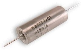 Axial Leaded Plastic Film Capacitor per MIL-PRF-87217