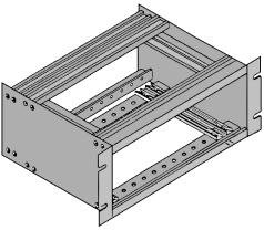 Open Case Equipment Chassis Frame