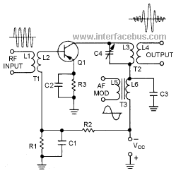 Mc1496 balanced modulator circuit