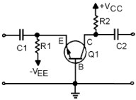 NPN Common Base Transistor circuit