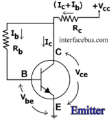 Common Emitter Circuit with Collector to Base bias current