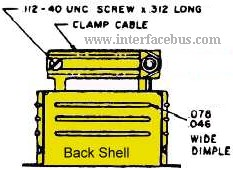 Flat Cable Connector Back Shell Diagram