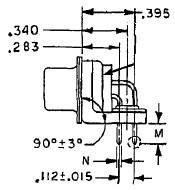 37-pin Dsub Right Angle Dimensions