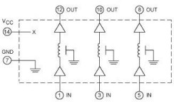 14-Pin Untapped Delay Line Device