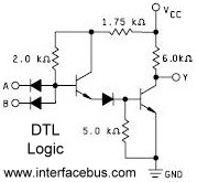 DTL Gate Schematic