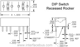 Dip Switch Diagrams