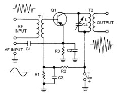 Emitter Injection Modulator Circuit Schematic