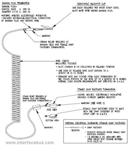 Esd Wrist Strap Cord Diagram