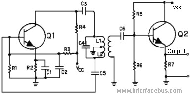 dictionary of electronic and engineering terms definition of atransformer coupled shunt fed hartley oscillator