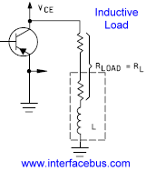 Circuit Diagram of an Inductive Load