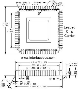Surface Mount Leaded Chip Carrier graphic