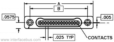 MIL32139 Single Row Connector