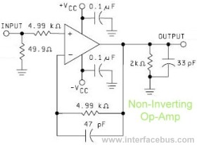 OpAmp Non-Inverter