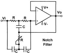 Filters Filtros besides Filtros additionally Notch Filter Schematic further Multi Function Universal Active Filter Circuit 1 besides Viewtopic. on tunable audio notch filter circuit