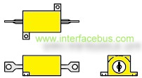 Wire-Wound MIL-R-39009 Chassis Mount Resistor