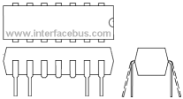 DIP Package Relays Drawing