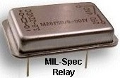 Military Spec Through-hole Metal Package Relay