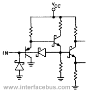 schottky diodes and schottky transistors used in the same circuit