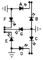 7-Segment Display schematic