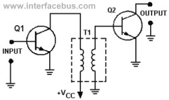 Transformer Coupled Transistor Amplifier Circuit