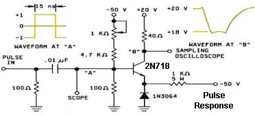 2N1613 Pulse Test Circuit