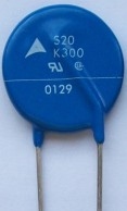 Picture of a physical Varistor
