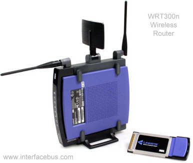 Linksys WRT300 Wireless Router