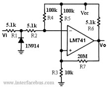 Zero Crossing Detector Lm741 Op  Circuit in addition Constant Current Source Circuit furthermore How Would I Condition The Signal From An Accelerometer For A Microphone Input as well ADC ADC SandH moreover Pont De Wheatstone. on op amp